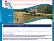 Sierra Water Systems - Informational